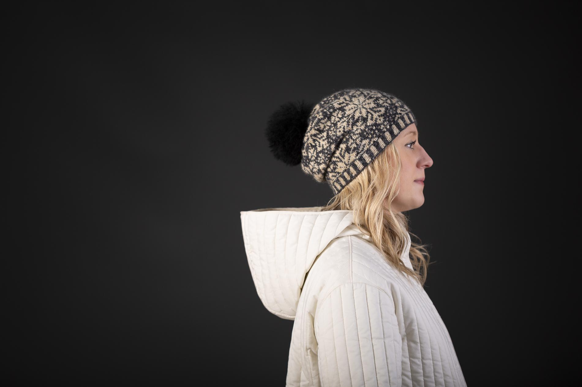Knitting Season hat (yarn pack)
