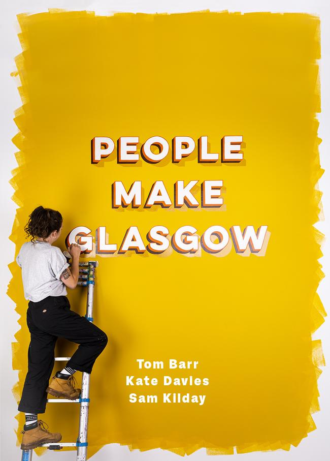 People MAKE Glasgow book front cover