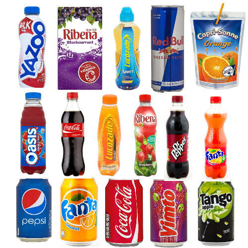 Top Selling Soft Drinks Uk
