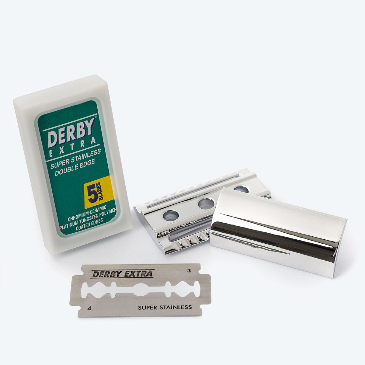 stainless steel safety razor blades
