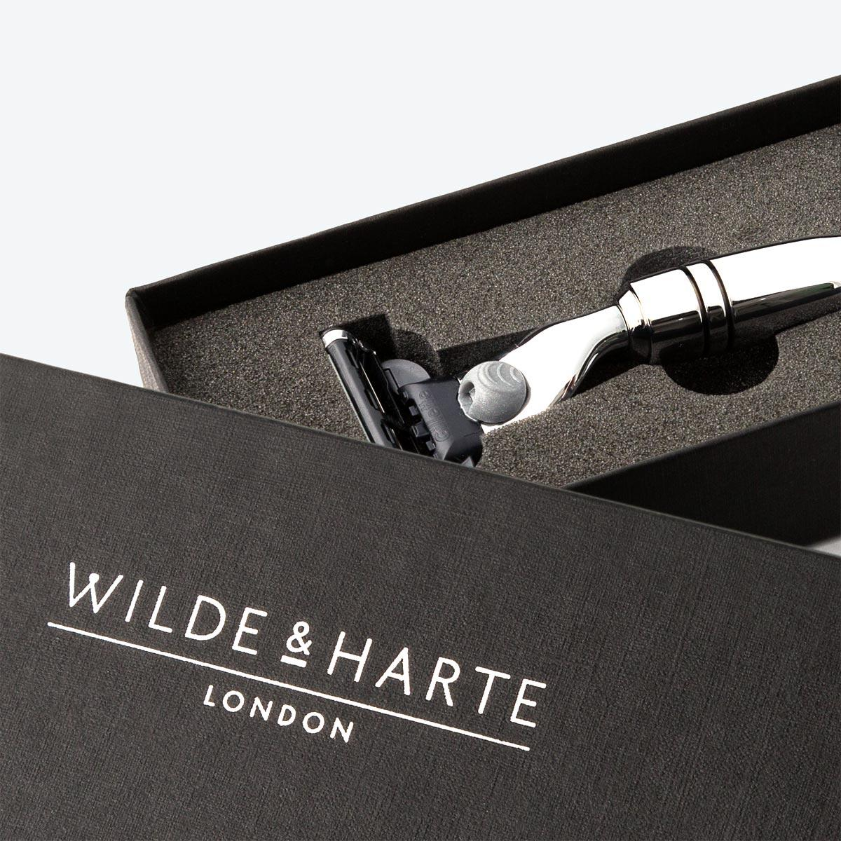 The Osterley Mach3 Razor from Wilde & Harte