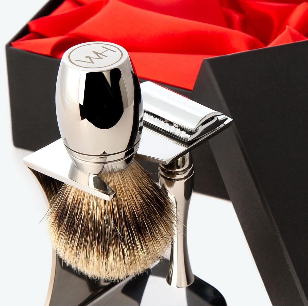 badger hair shaving brush sets