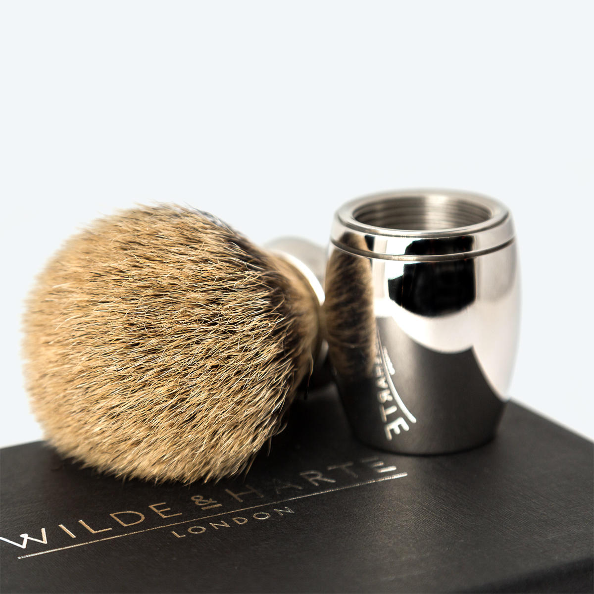 best badger shaving brush UK Wilde and Harte