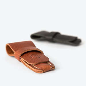 leather case for travel razor