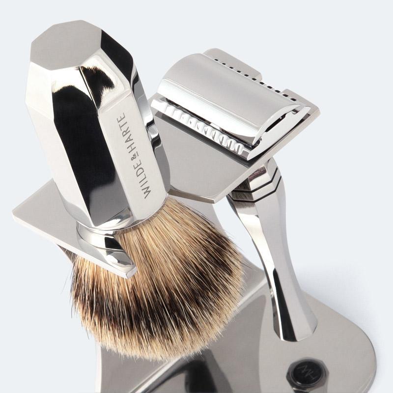 English shaving set