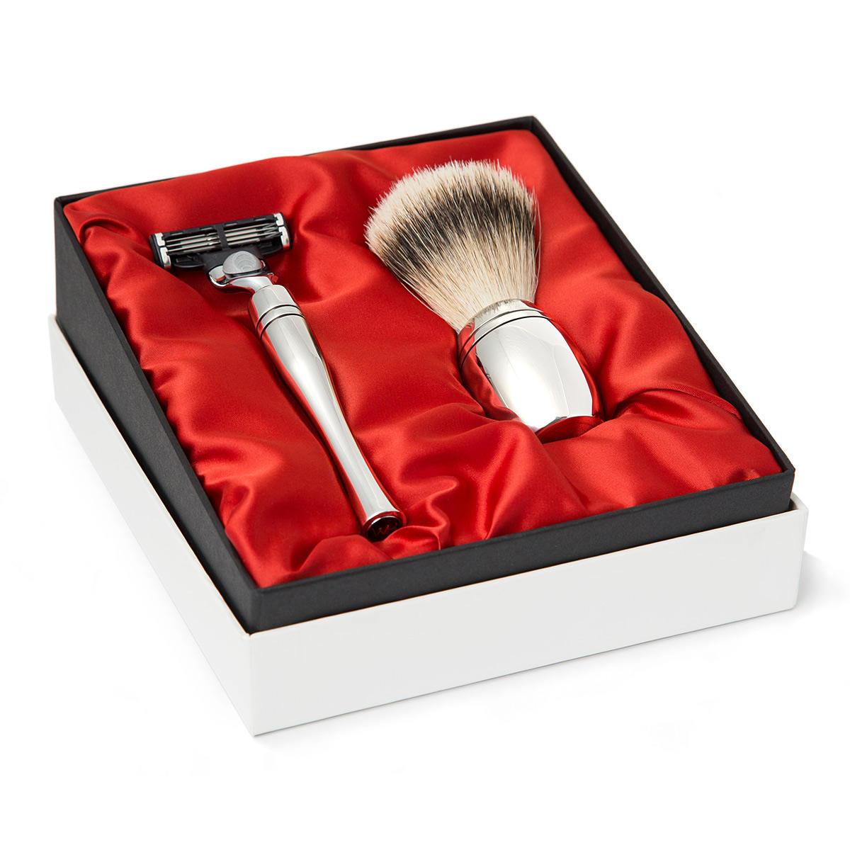 contemporary shaving gift set