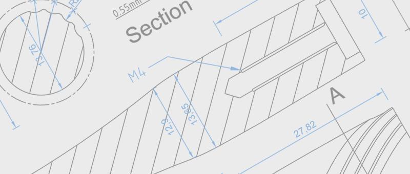 razor handle CAD drawings