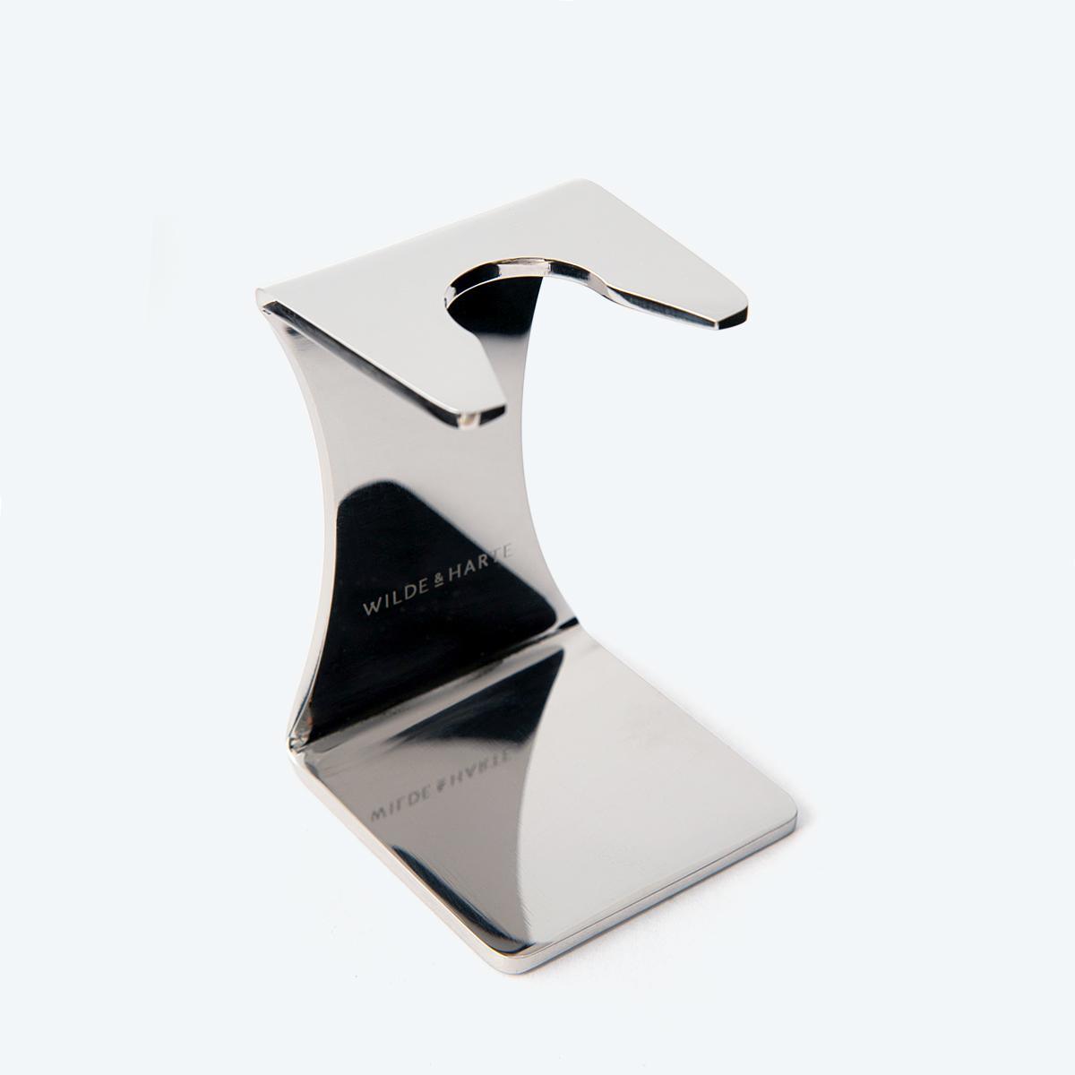 Stainless Steel Shaving Brush Stand
