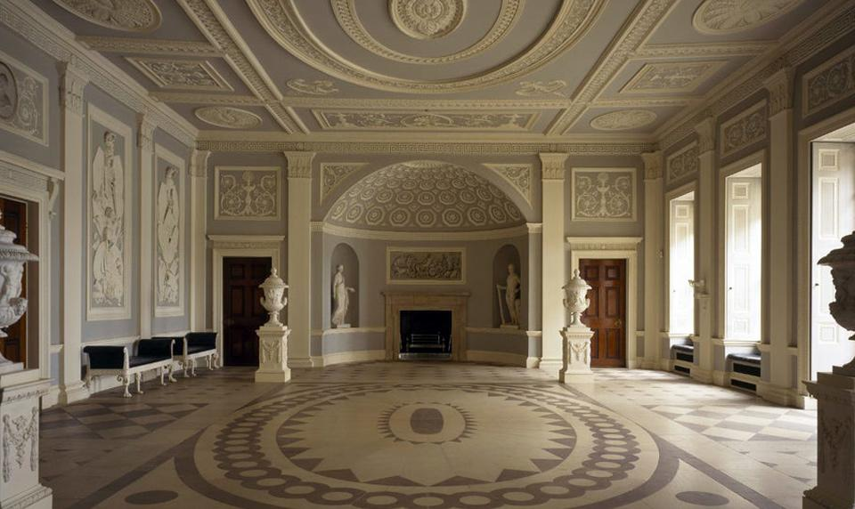 the entrance hall Osterley House