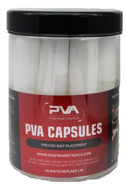 Tub of Slow Release PVA Bait Capsules