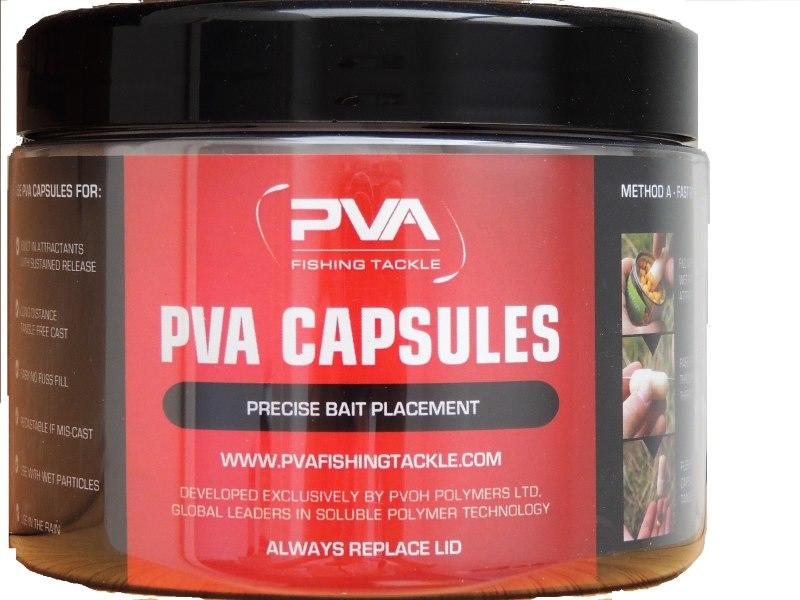 Trail Pack of 10 PVA Bait capsules for precise bait placement