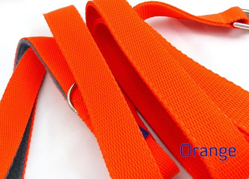 Orange webbing long lead