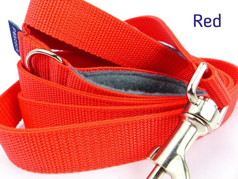 Red webbing multiway lead