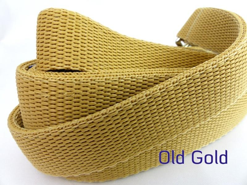 Old gold webbing multiway lead
