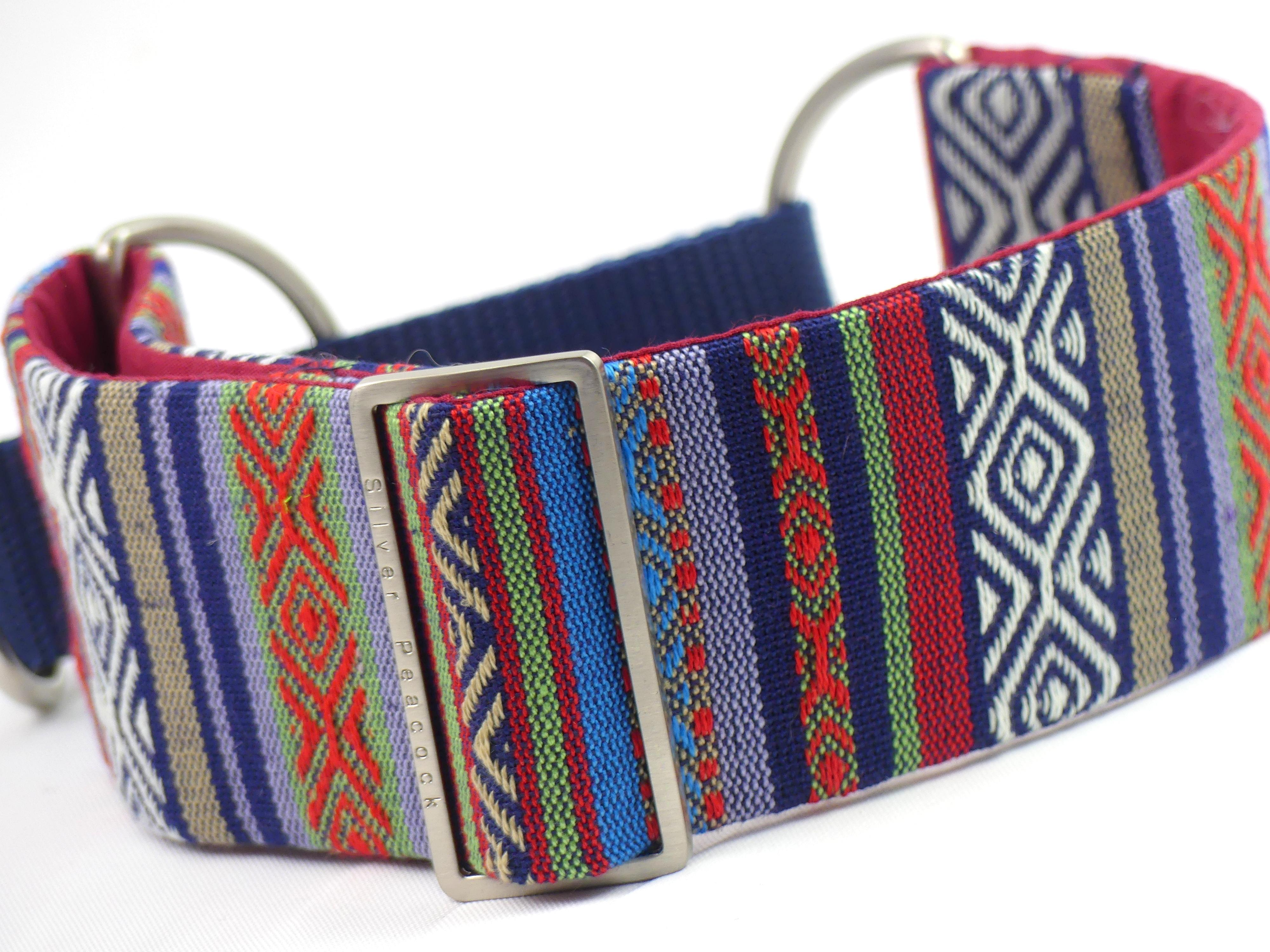 Striped martingale collar