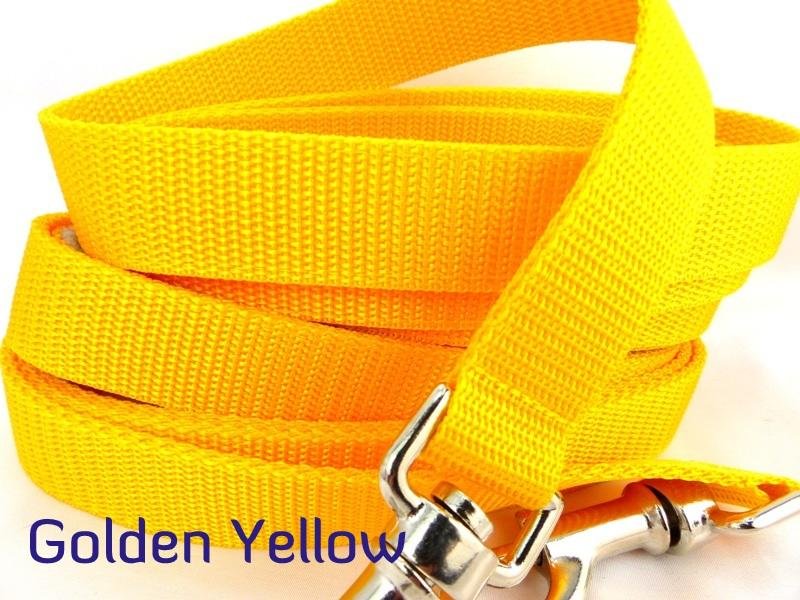 Yellow webbing multiway lead