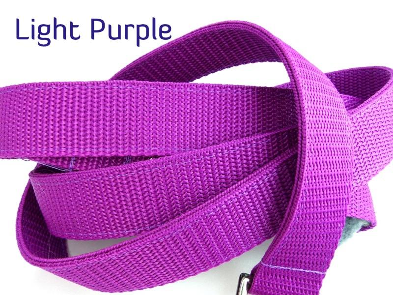 Light purple webbing multiway lead