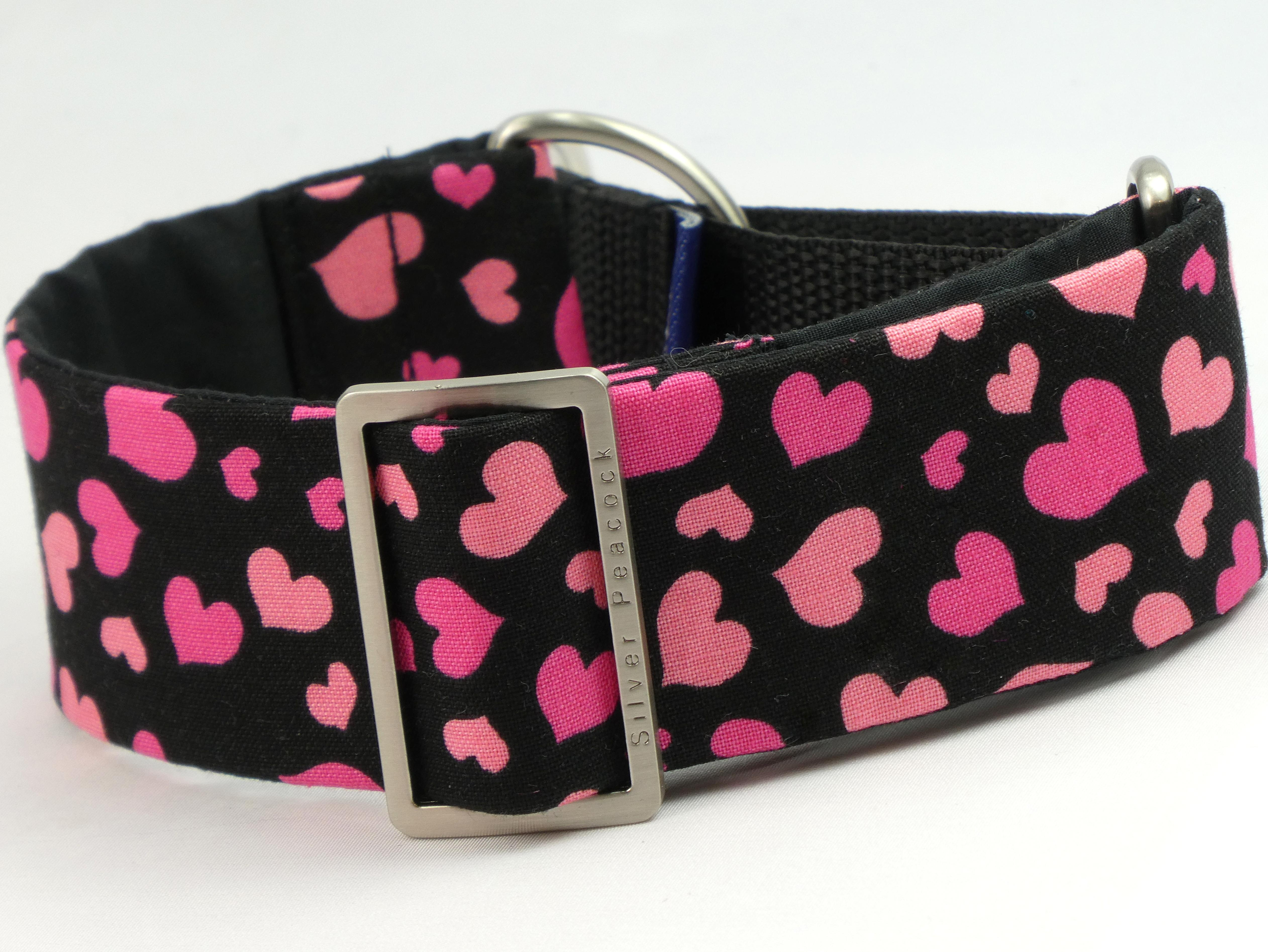 heart martingale collar