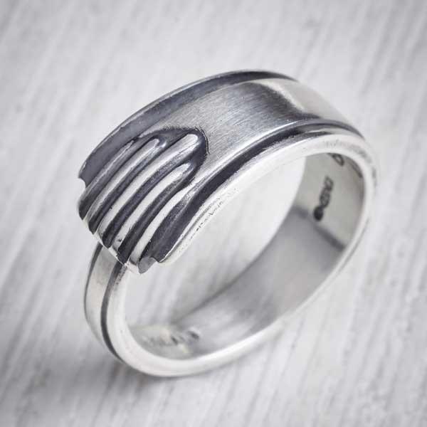silver cutlery jewellery