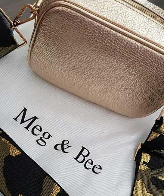 Handbag and Strap from Meg and Bee
