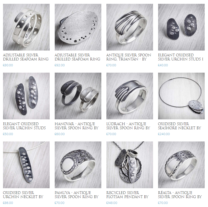 The Jewellery Makers online jewellery shop