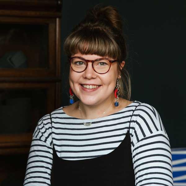 Becca Macdonald - one of THE JEWELLERY MAKERS