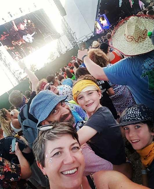 Family tickets for Glastonbury Festival 2019
