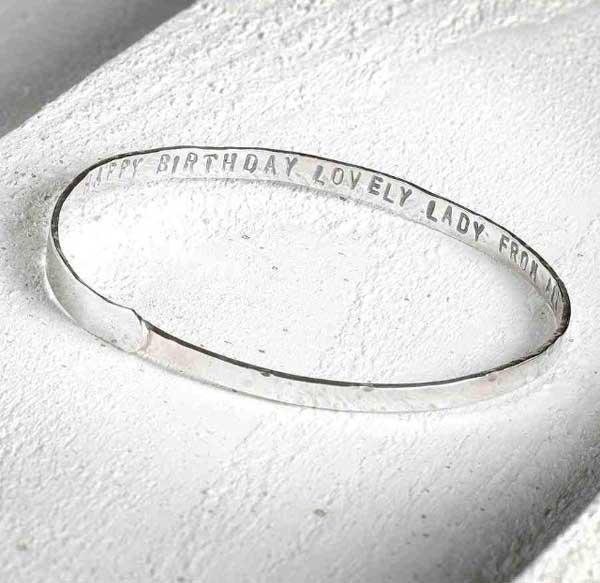 personalised silver jewellery