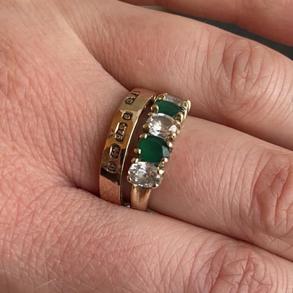 contemporary heirloom ring