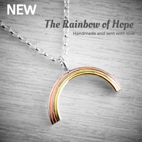 The Rainbow of Hope Handmade Necklace by Emma White