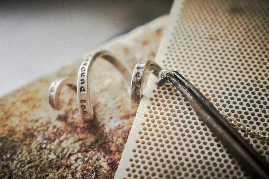 silver jewellery soldering