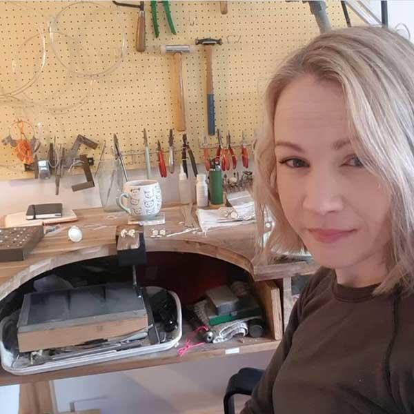 melanie hamlet jewellery maker