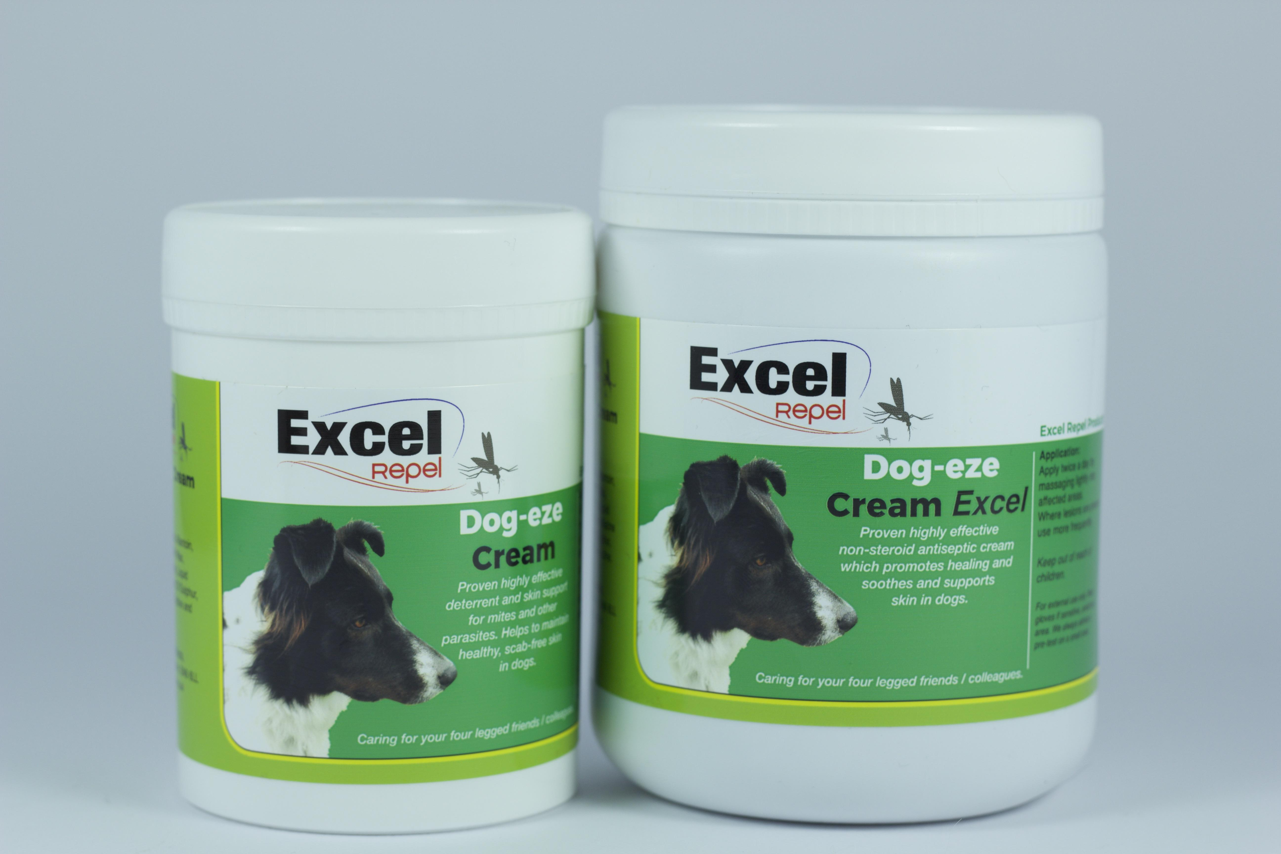 Excel Repel Dog Eze Lotion Spray Itchy Skin Relief For