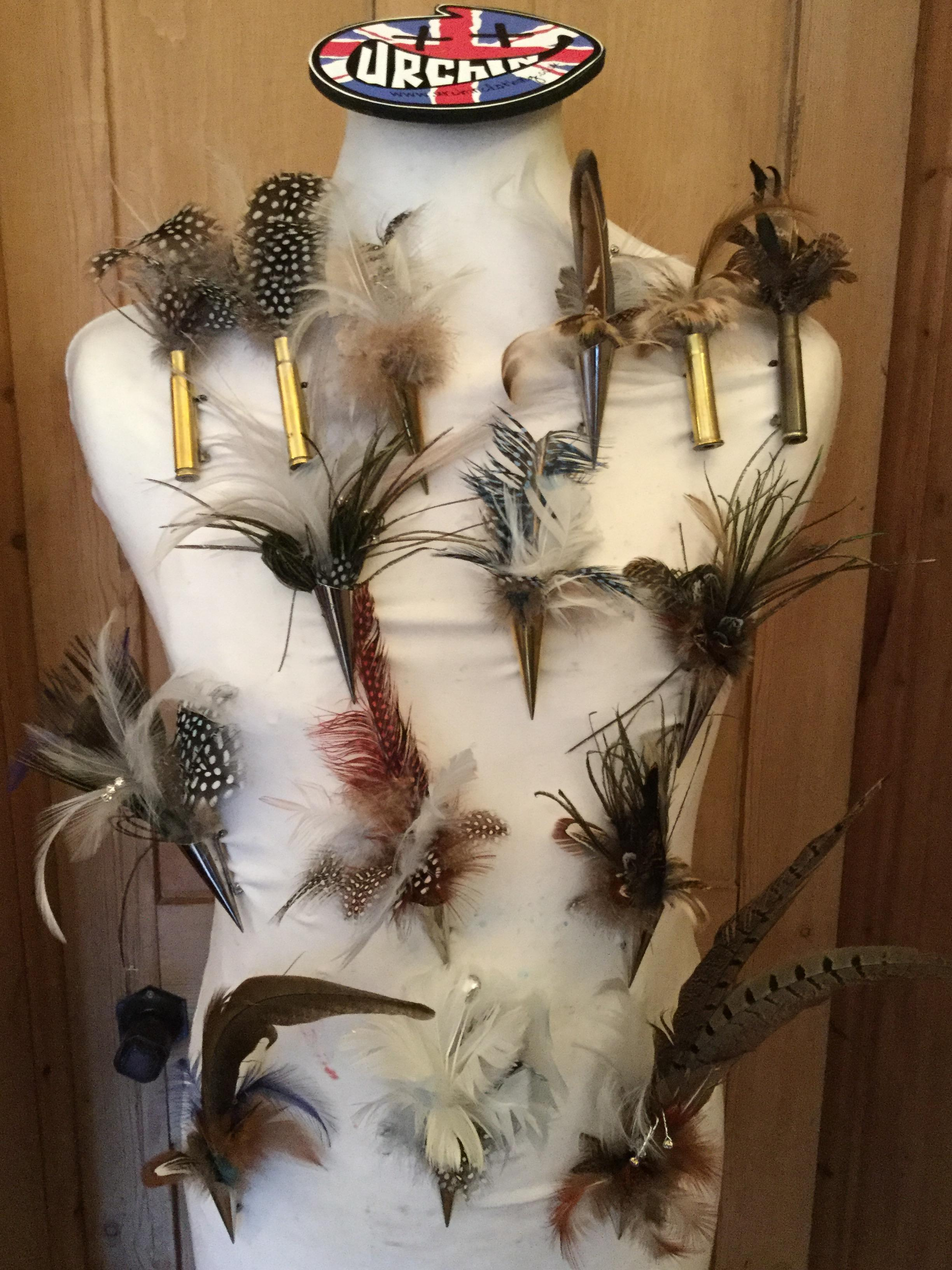 Feather Brooch and Pin's