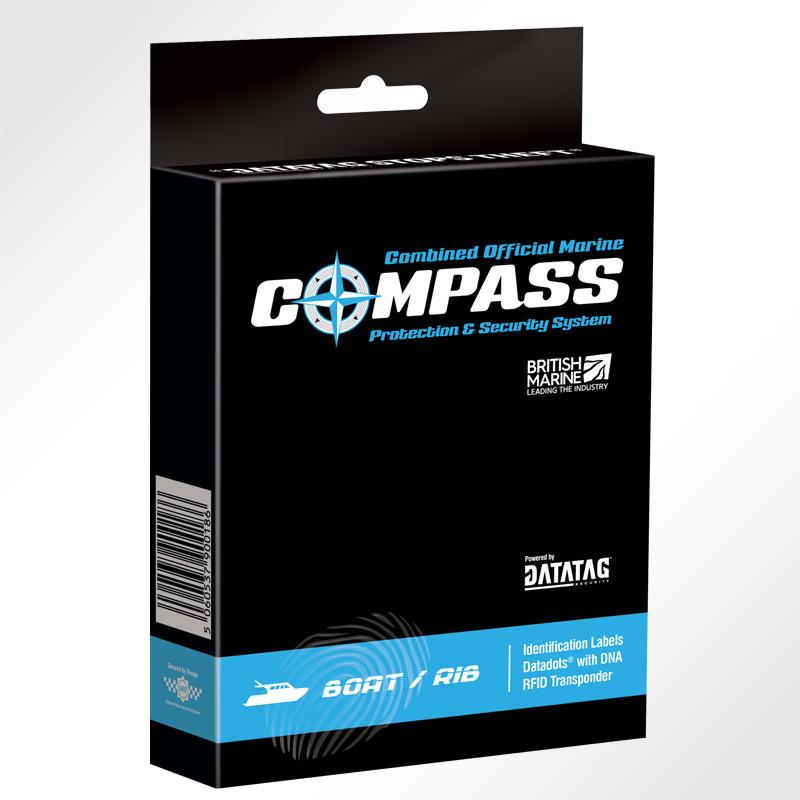 Datatag COMPASS Boat System packaging