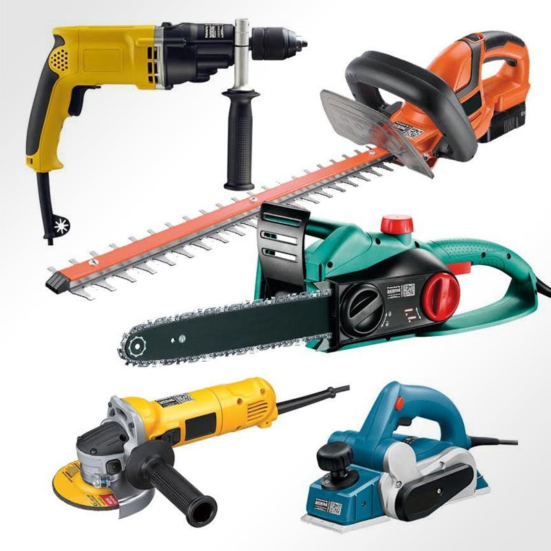 Various powertools protected by Datatag