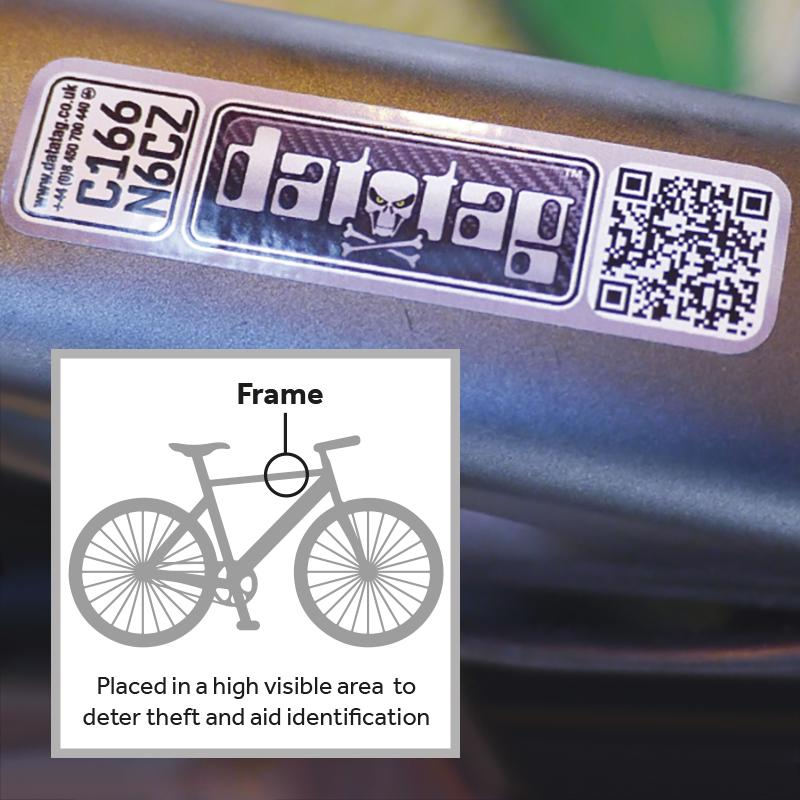 Datatag Tamper Evident ID Decal Technology