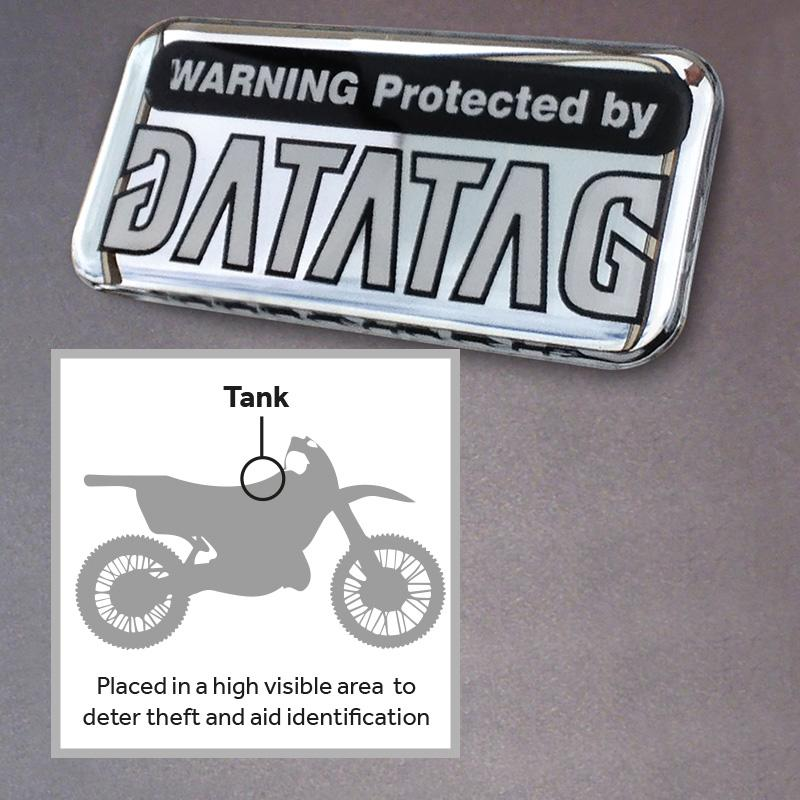 Datatag Domed Resin Label