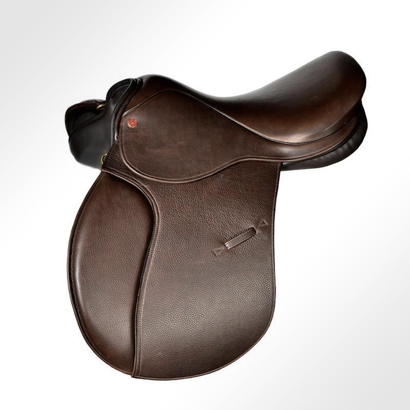 Equine saddle protected by Datatag