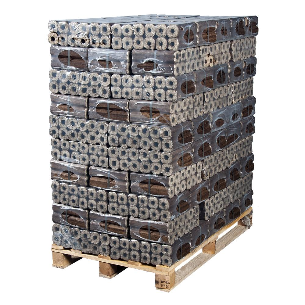 Pini-Kay Wood Briquettes Heat Logs Full Pallet