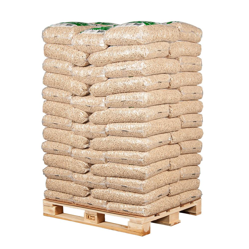 EN+ A1 Wood Pellets Full Pallet