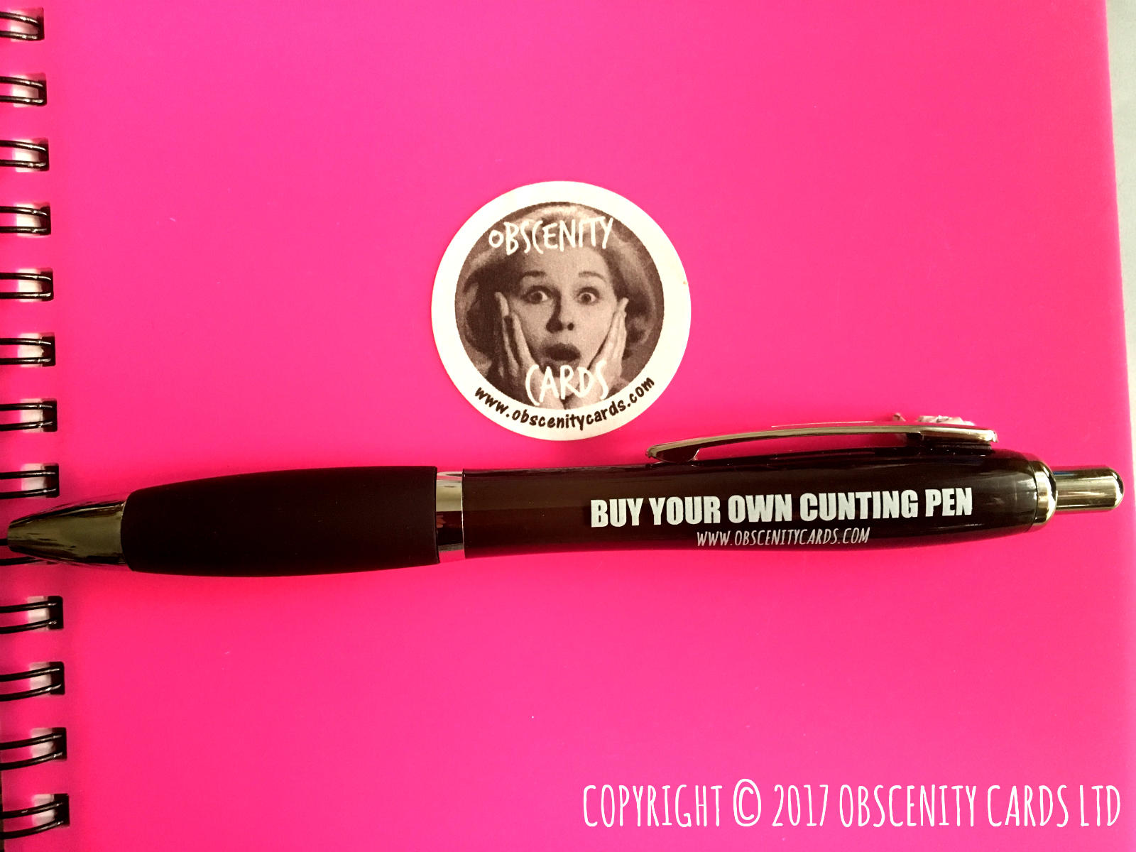 SWEARY PENS. Obscene funny offensive birthday cards by Obscenity cards. Obscene Funny Cards, Pens, Party Hats, Key rings, Magnets, Lighters & Loads More!
