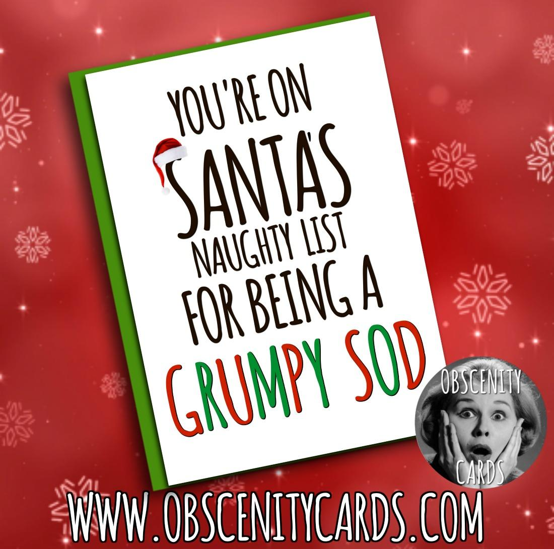 Funny Obscene offensive cards, CHRISTMAS, and gifts by Obscenity Cards