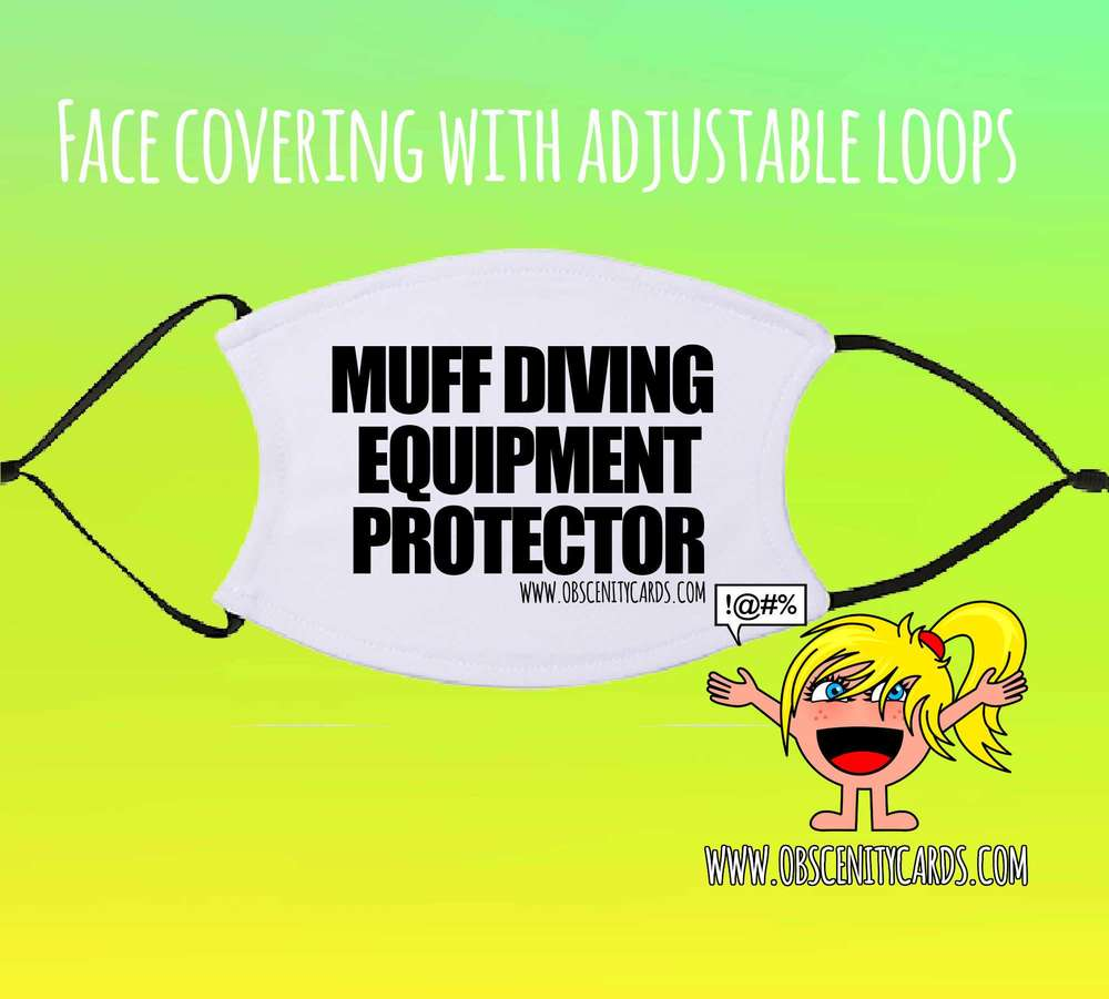 **PRE-ORDER** MUFF DIVING EQUIPMENT PROTECTOR FACE COVERING / FACE FASHION / FACIAL COVER