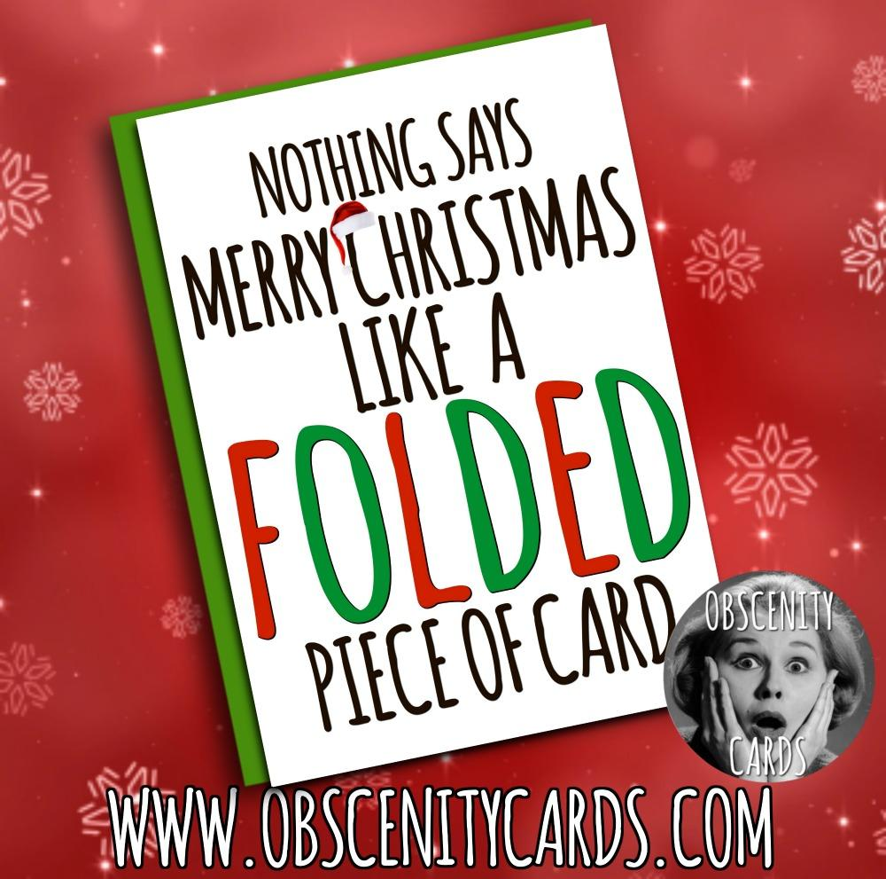 Obscene funny offensive christmas cards by Obscenity cards. Obscene Funny Cards, Pens, Party Hats, Key rings, Magnets, Lighters & Loads More!