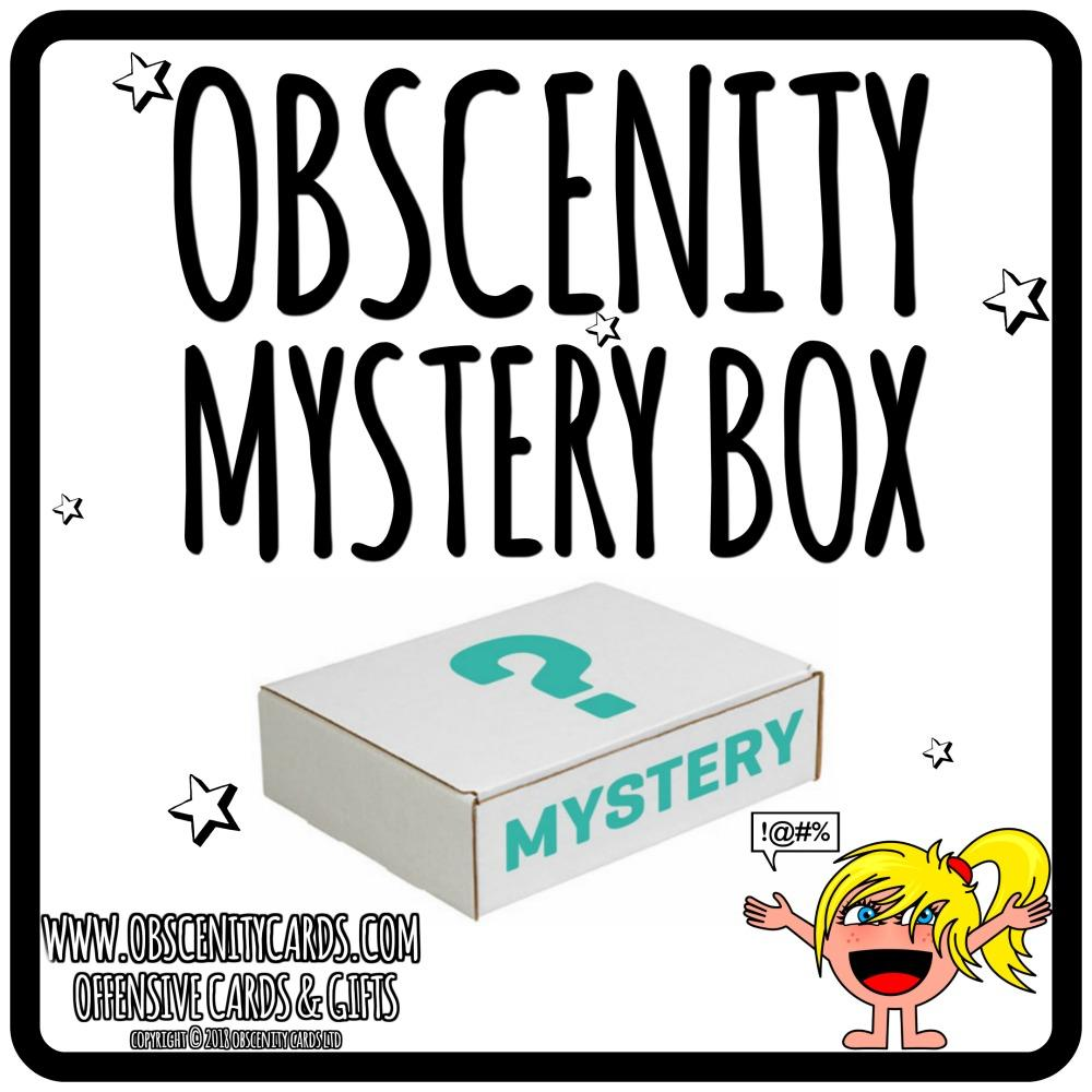 OBSCENITY MYSTERY BOX (there's a swear on everything!) PRE ORDER FOR 1ST DECEMBER!