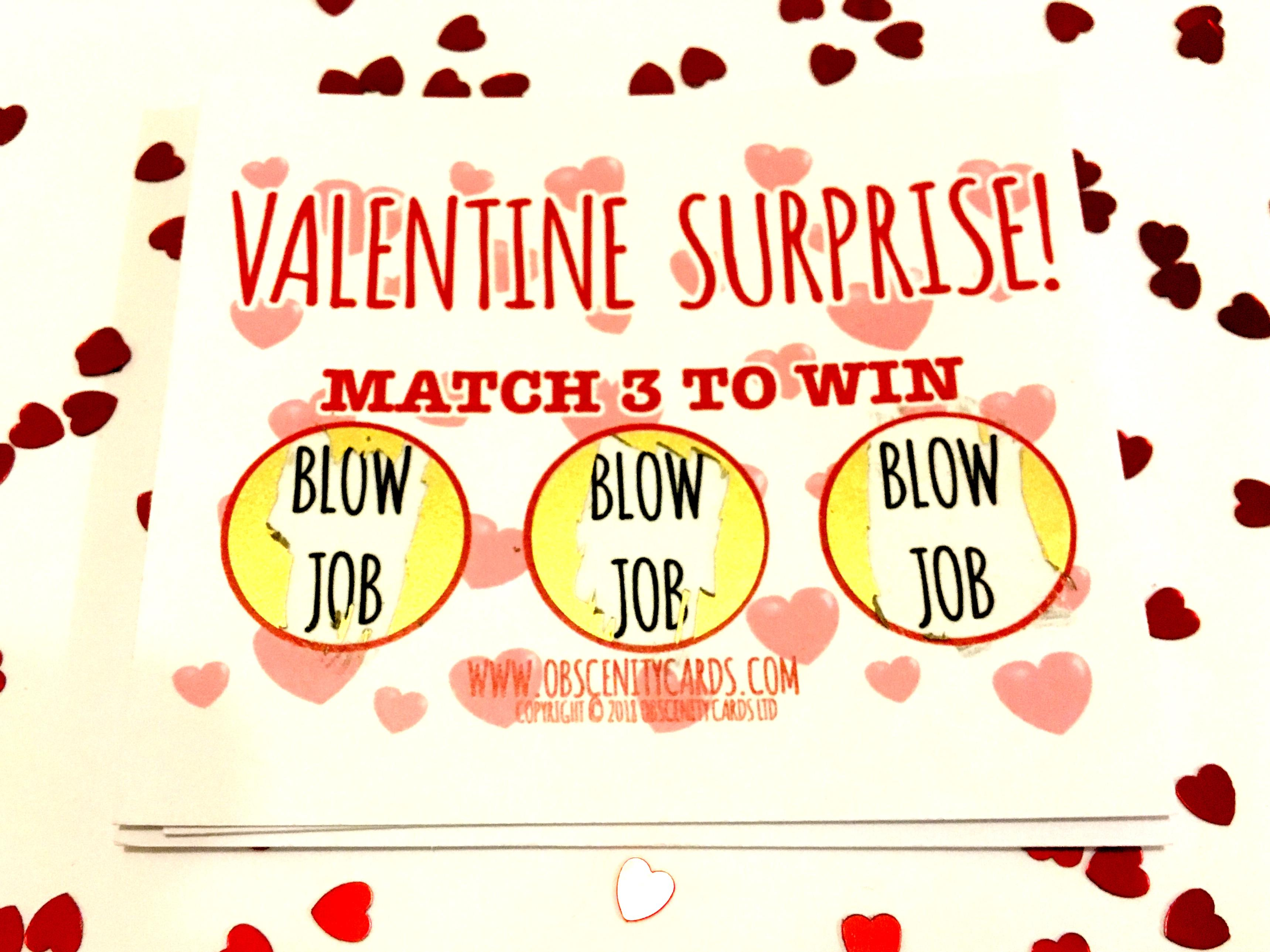 Valentines blow job