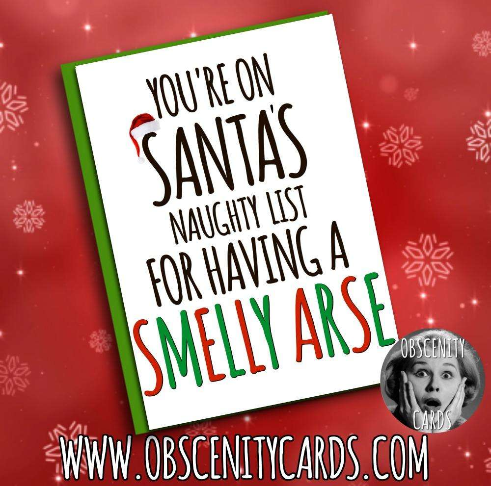 Funny Obscene offensive cards and gifts by Obscenity Cards