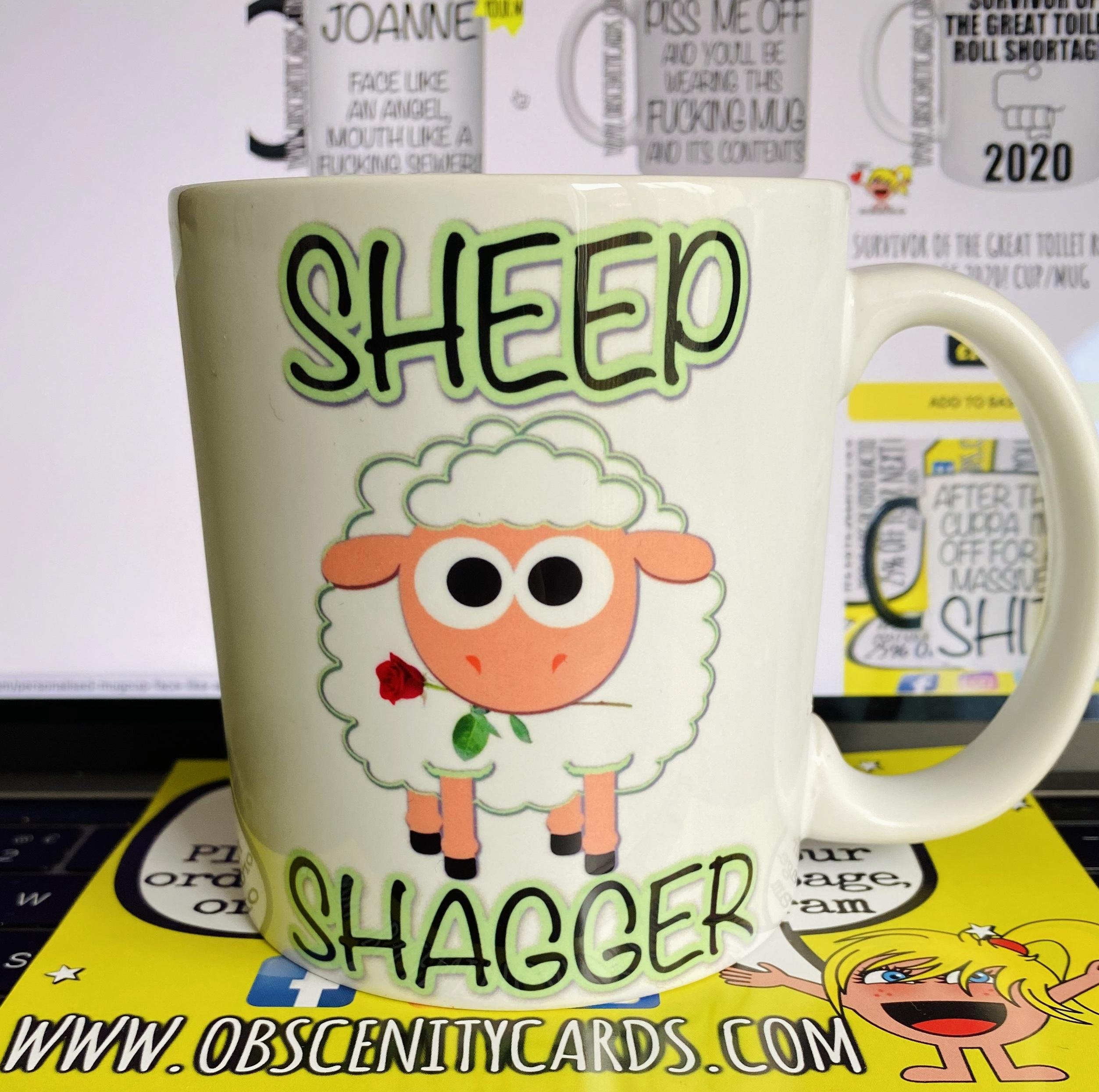 SHEEP SHAGGER MUG / CUP