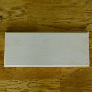 solid 1 inch thick sycamore sign blanks for pyrography